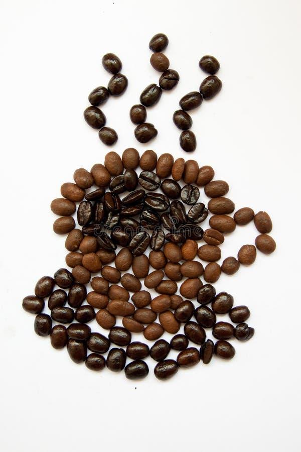 Taza de café caliente fotografía de archivo