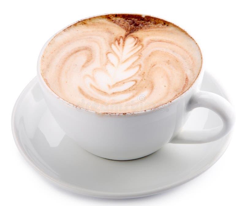 Taza de café del latte fotos de archivo libres de regalías