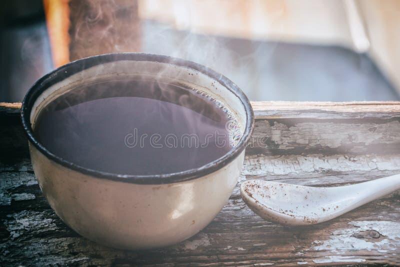 Taza de café del vintage fotografía de archivo