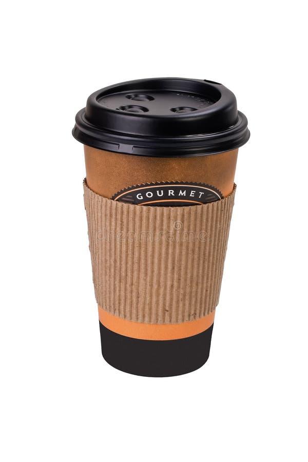 Taza de café disponible fotos de archivo