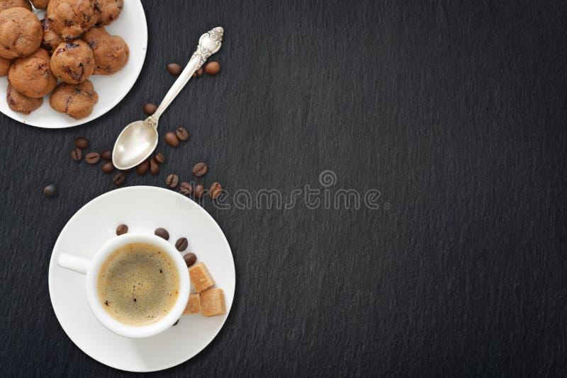 Taza de café express fotografía de archivo libre de regalías
