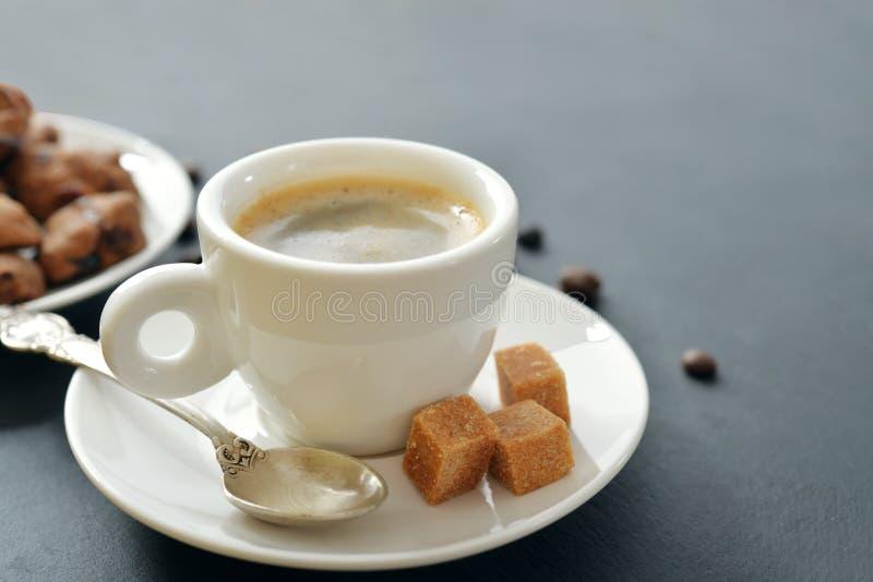 Taza de café express fotos de archivo libres de regalías