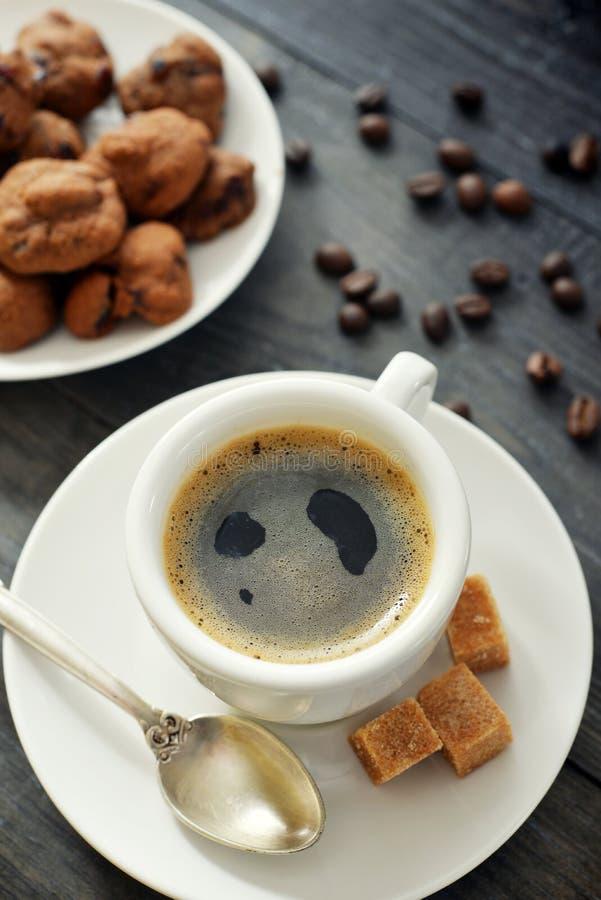 Taza de café express fotografía de archivo