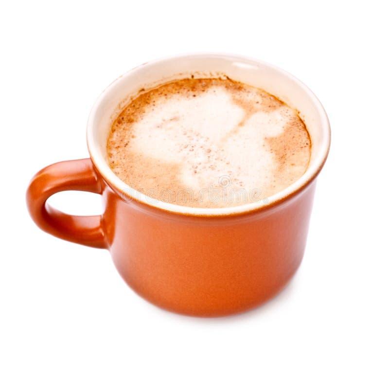 Taza de café llena imagen de archivo