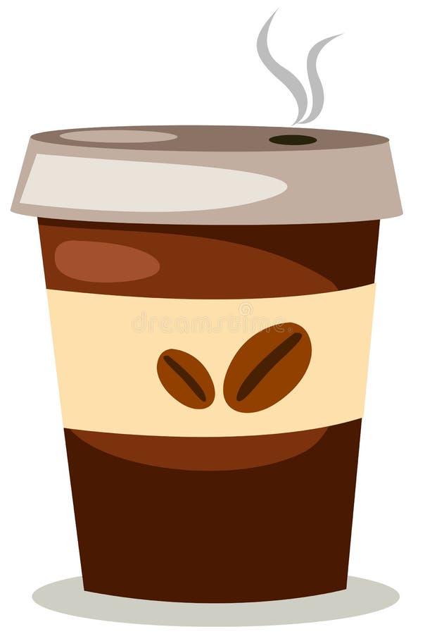 Taza de café para llevar libre illustration