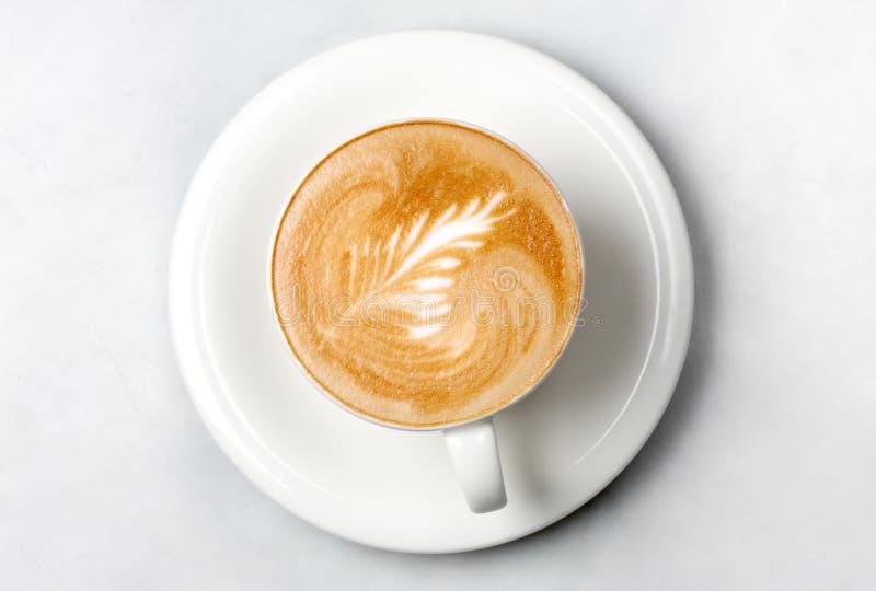 Taza de café profesional del barista imagen de archivo libre de regalías