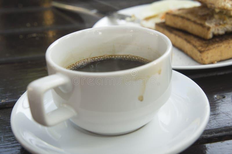Taza de café sólo foto de archivo libre de regalías