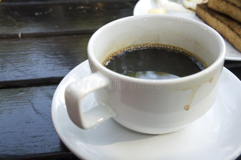Taza de café sólo fotografía de archivo libre de regalías