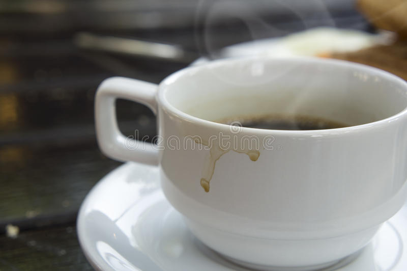 Taza de café sólo imagen de archivo libre de regalías