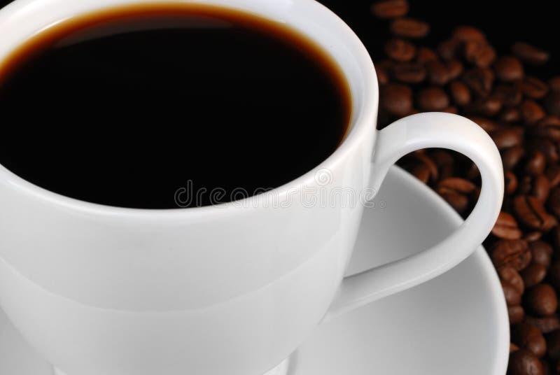 Download Taza de café sólo foto de archivo. Imagen de oscuro, marrón - 7286912