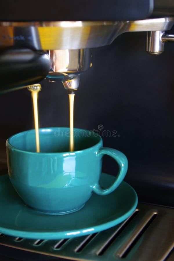 Taza de café verde foto de archivo