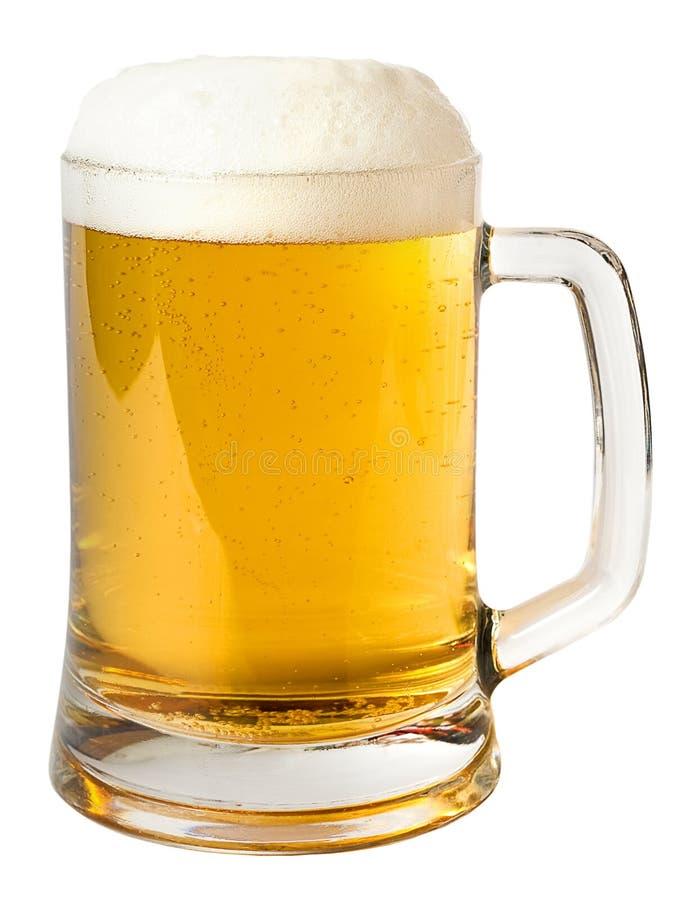 Taza de cerveza fotografía de archivo