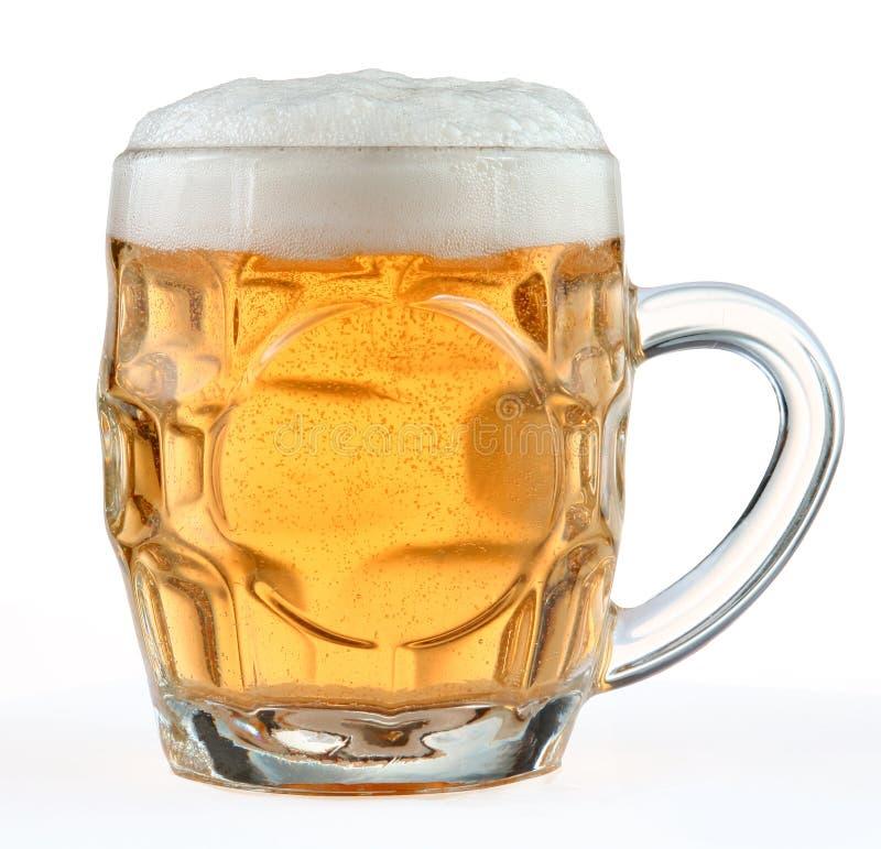 Taza de cerveza imagen de archivo