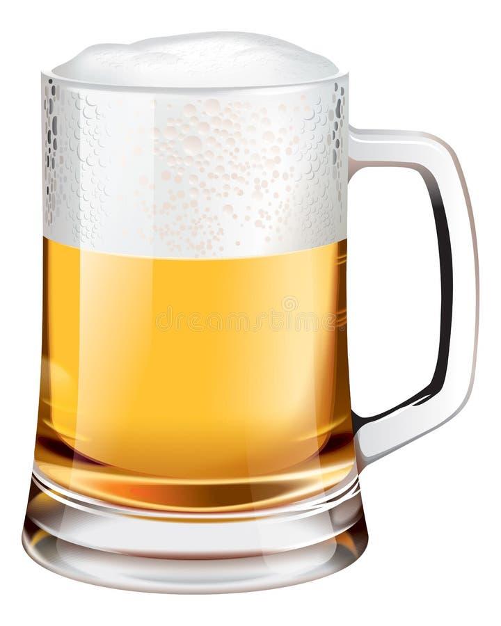 Taza de cerveza libre illustration