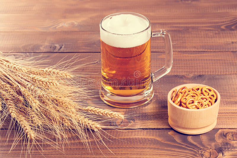 Taza de cerveza de Oktoberfest imagen de archivo libre de regalías