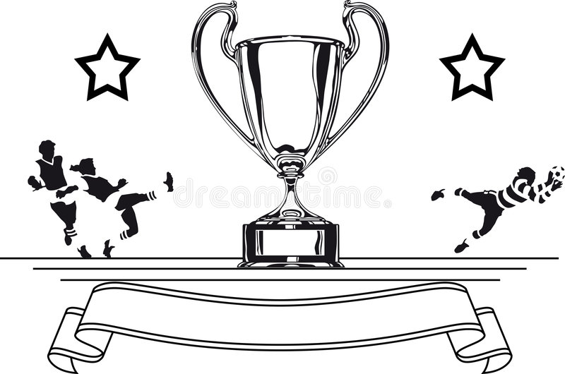 Taza de fútbol libre illustration