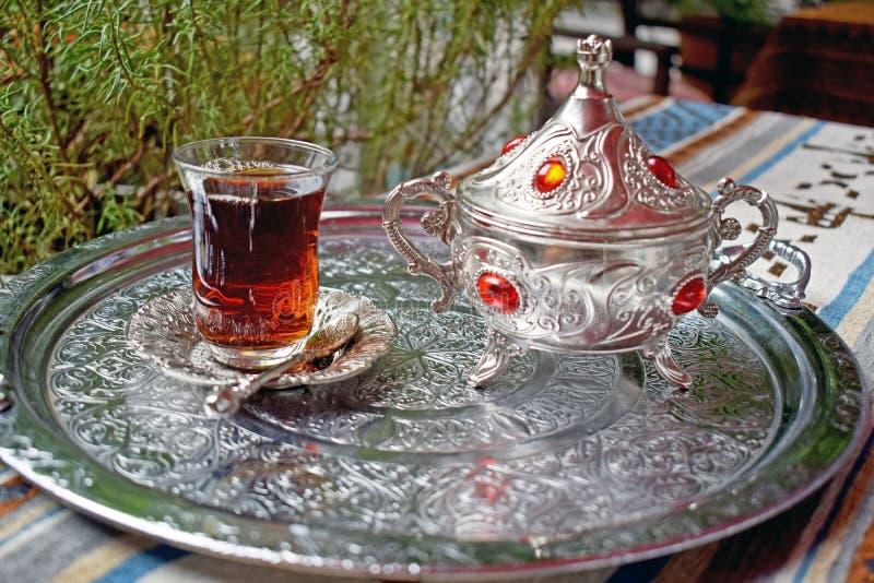 Taza de ji turca fotografía de archivo