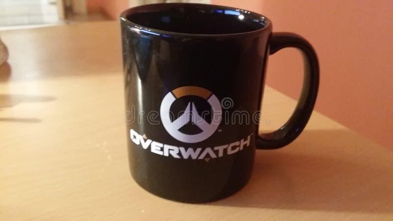 Taza de Overwatch foto de archivo