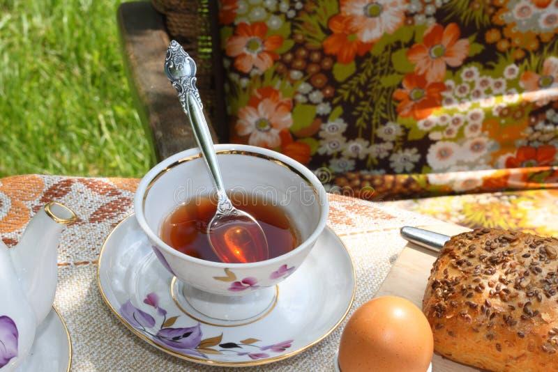 Taza de té. foto de archivo libre de regalías