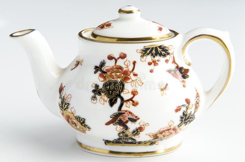 Taza de té aislada fotografía de archivo