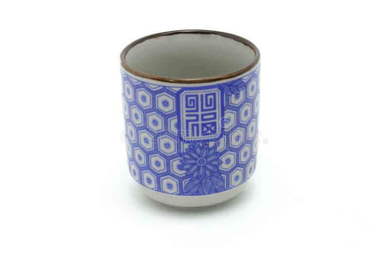 Taza de té de la prosperidad del chino tradicional fotos de archivo