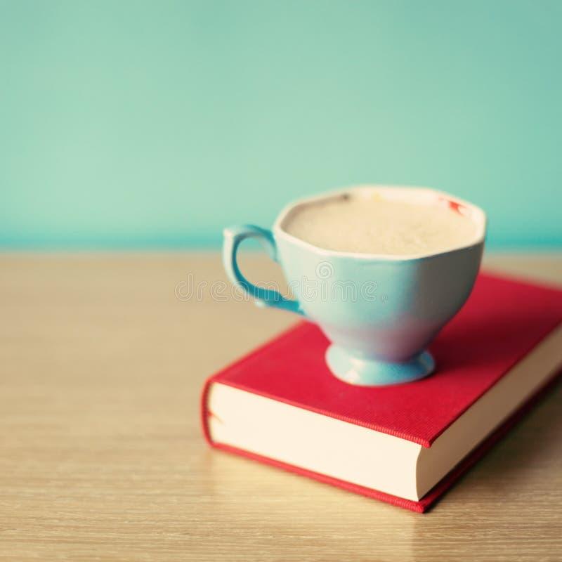 Taza de té de la turquesa fotos de archivo libres de regalías
