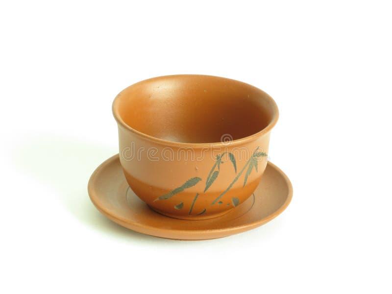 Taza de té a solas imágenes de archivo libres de regalías