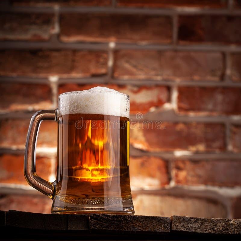 Taza de una cerveza fotos de archivo libres de regalías