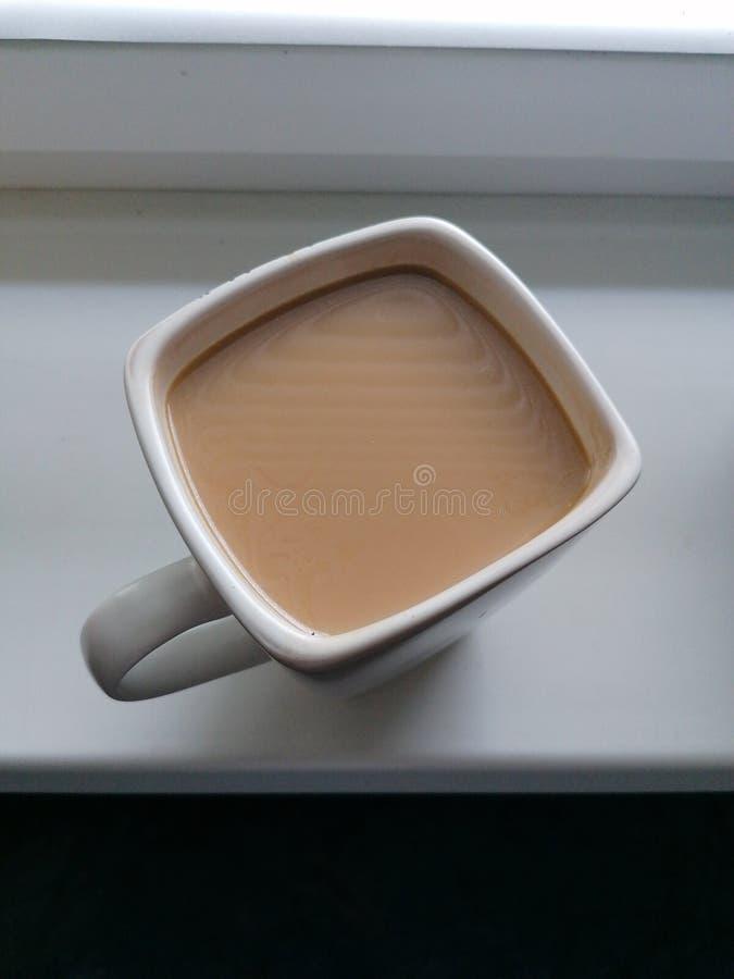Taza del caf? con leche fotos de archivo libres de regalías