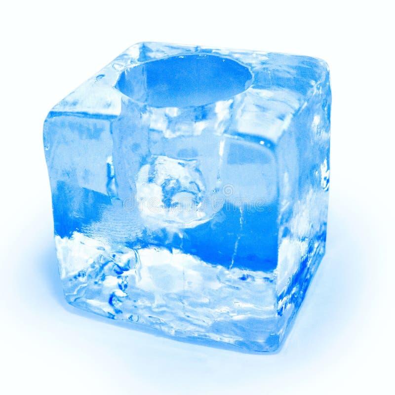 Taza del hielo fotos de archivo