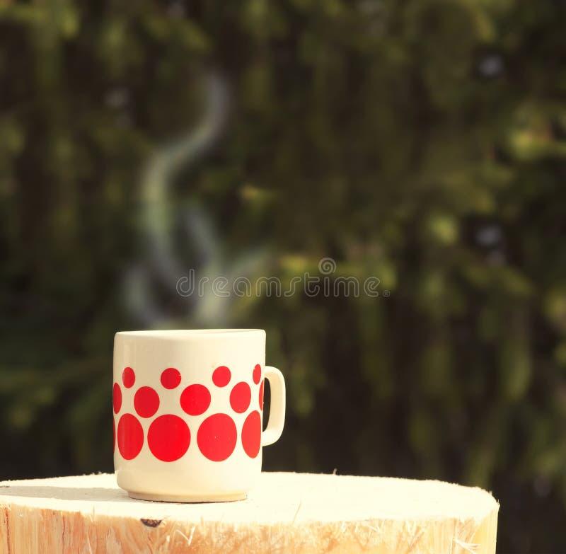 Taza del té o de café fotos de archivo