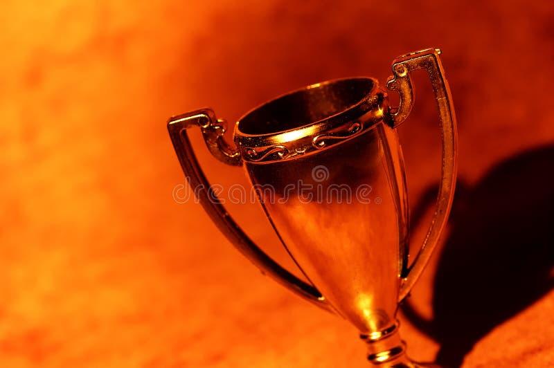 Taza del trofeo fotos de archivo
