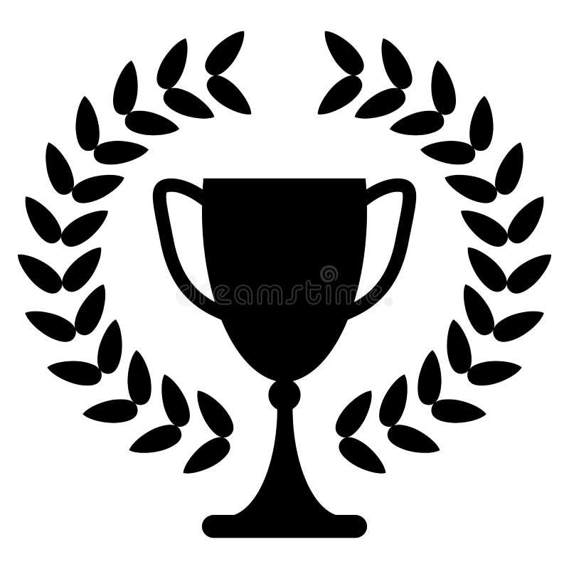 Taza del trofeo ilustración del vector