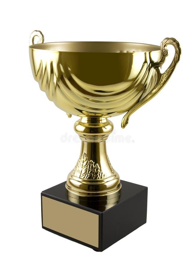 Taza del trofeo imagen de archivo