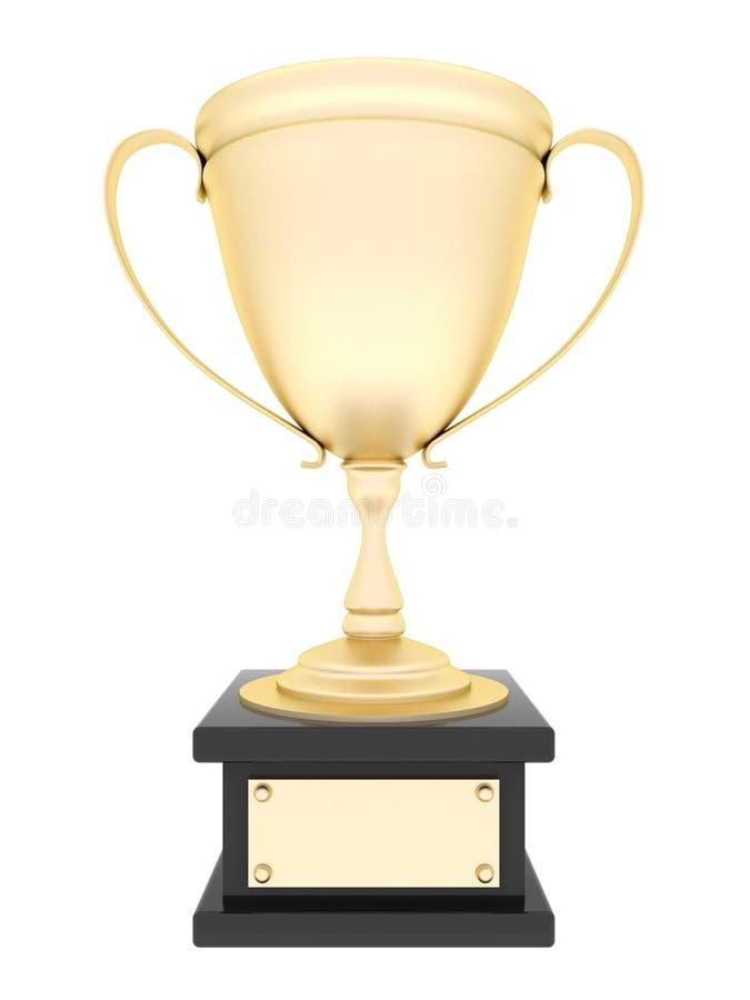 Taza del trofeo del oro libre illustration