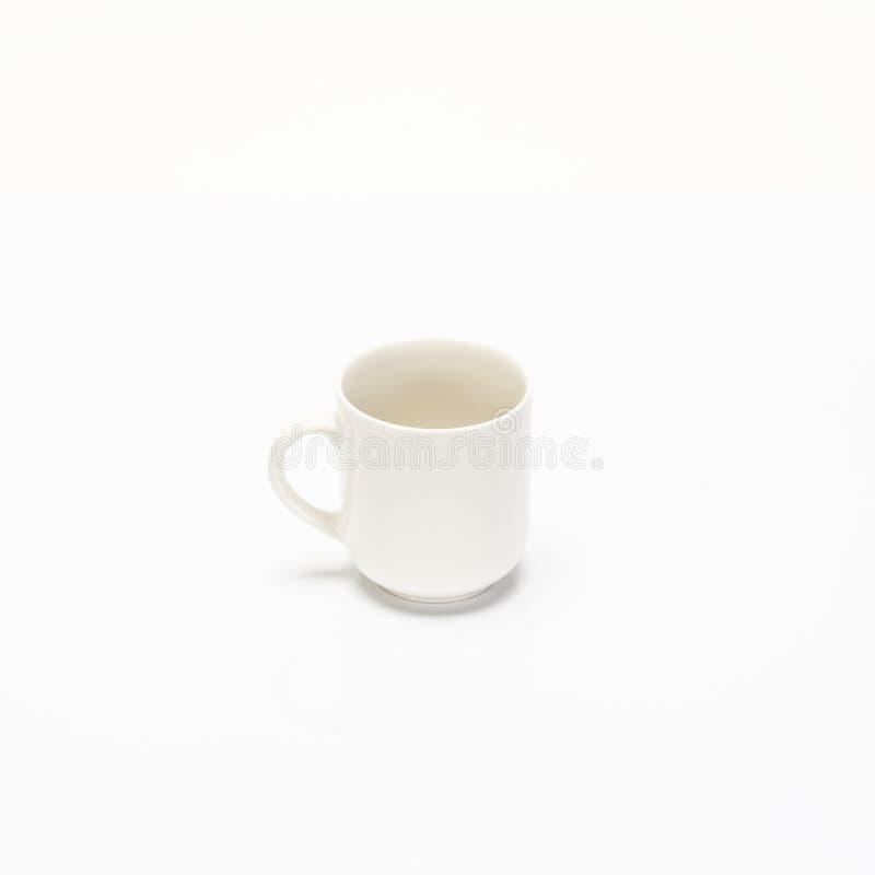 Taza vacía del coffe imagen de archivo libre de regalías