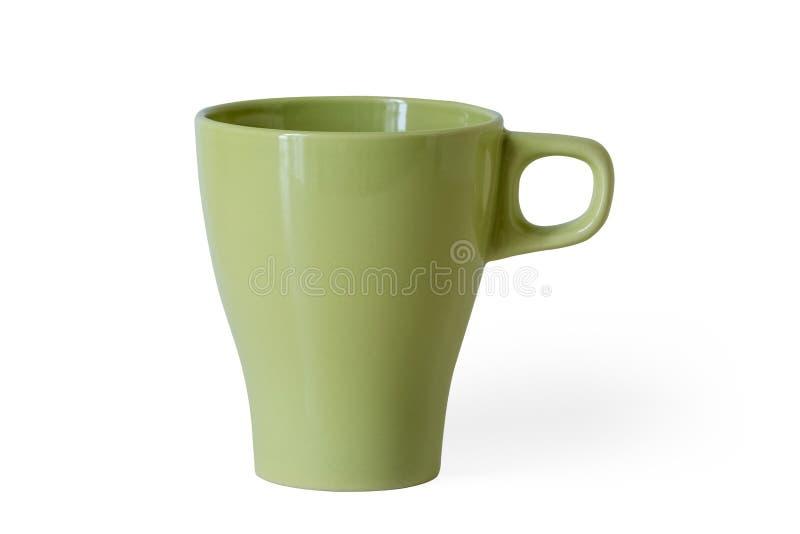 Taza verde ácida foto de archivo