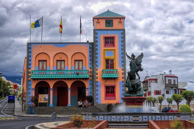Tazacorte, La Palma island, Canary, Spain royalty free stock images