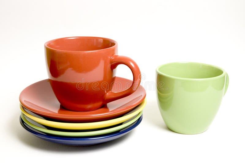 Download Tazas 5 imagen de archivo. Imagen de ceramic, teacup, almuerzo - 181203