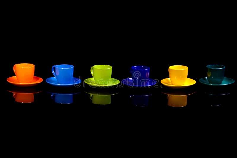 Tazas de café. foto de archivo