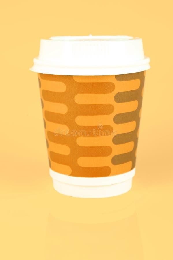 Tazas de café para llevar imagen de archivo libre de regalías