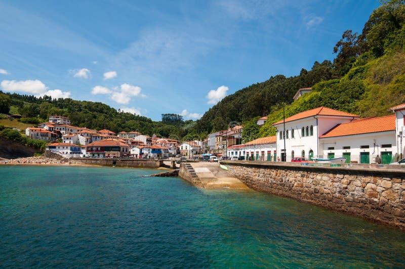 Tazones, Asturias, Hiszpania obraz royalty free