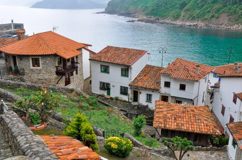 Tazones, Asturias (Spanje) royalty-vrije stock foto
