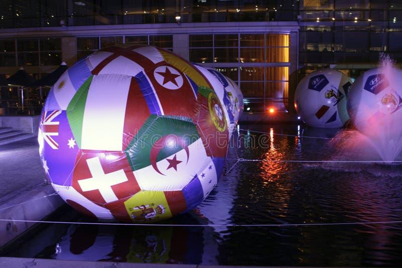 Tazza 2010 di mondo di calcio della FIFA fotografia stock