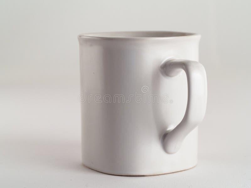 Tazza bianca fotografia stock