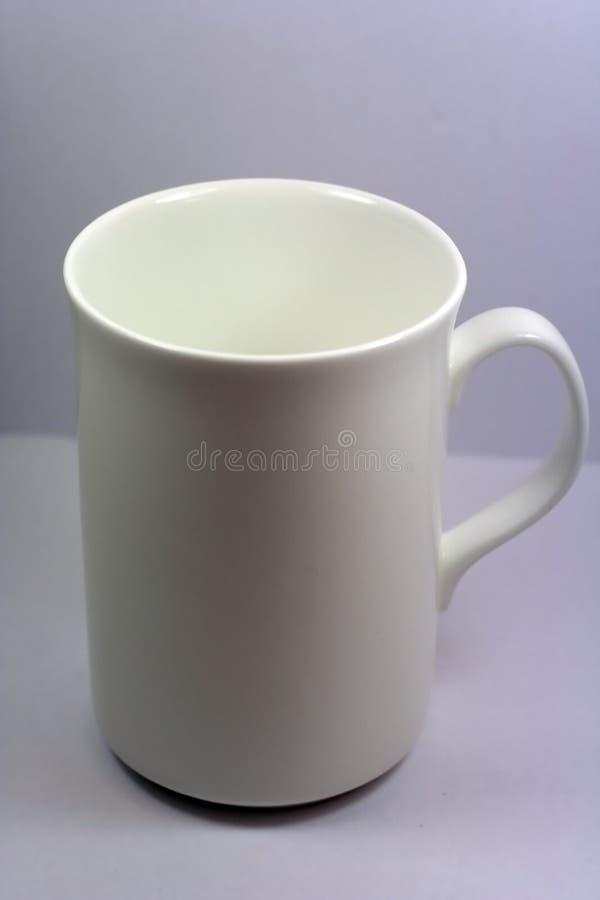 Tazza bianca immagini stock