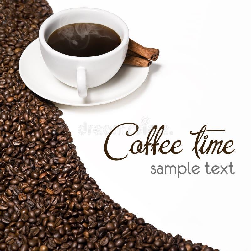 Tazza calda di coffe fotografia stock libera da diritti