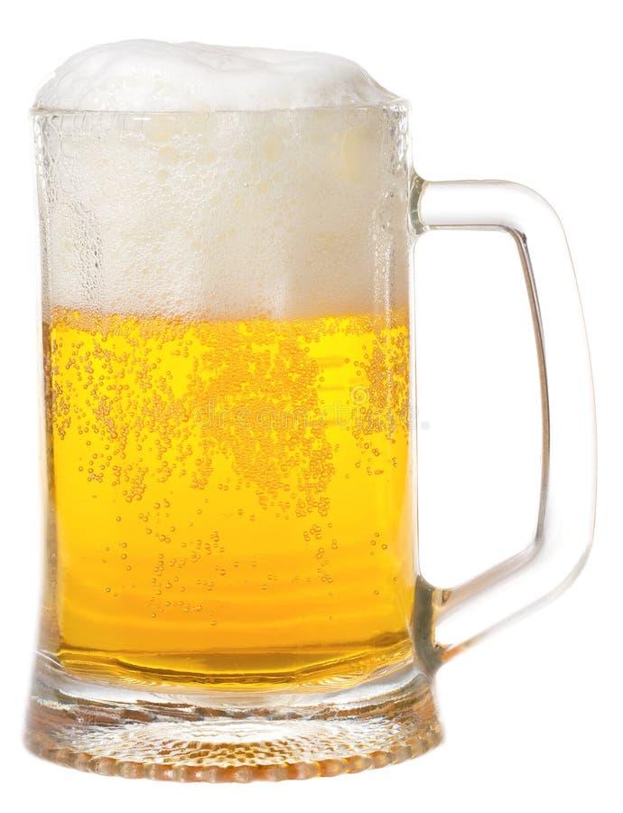 Tazza con birra immagini stock libere da diritti