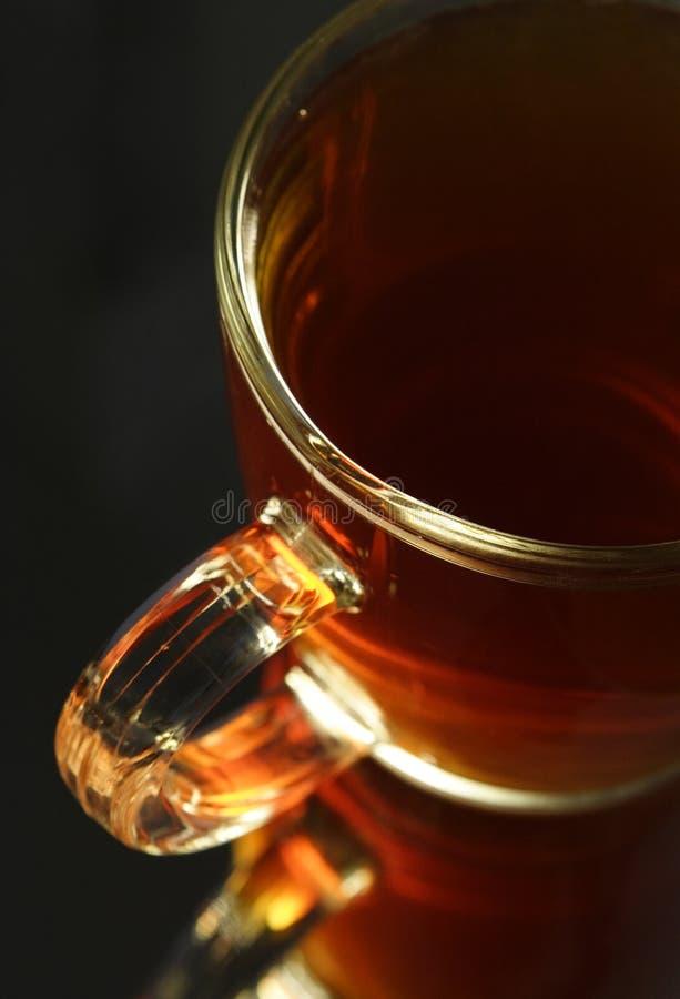 Tazza con tè caldo fotografie stock