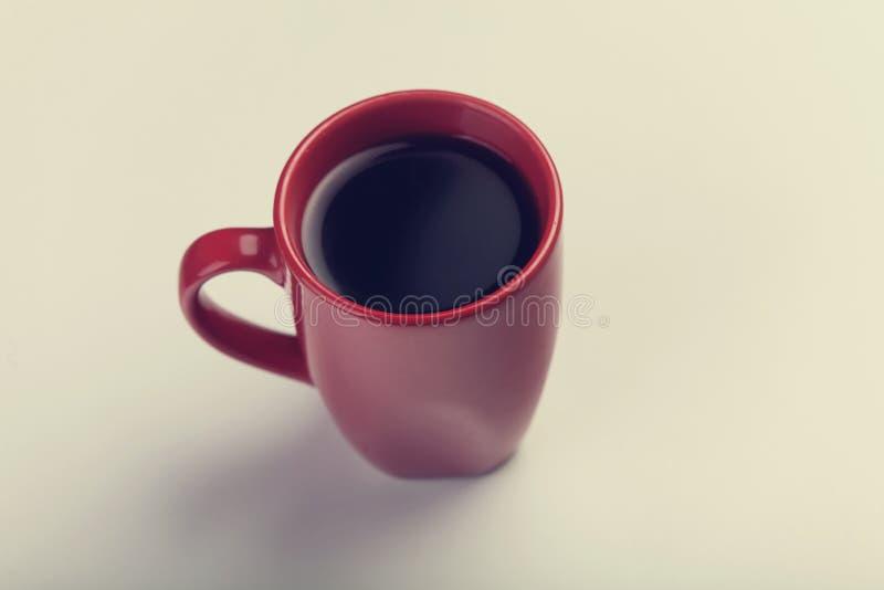 Tazza da caffè ceramica bianca fotografia stock